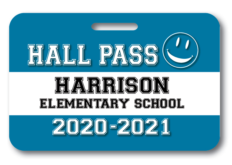Hall Pass Badge